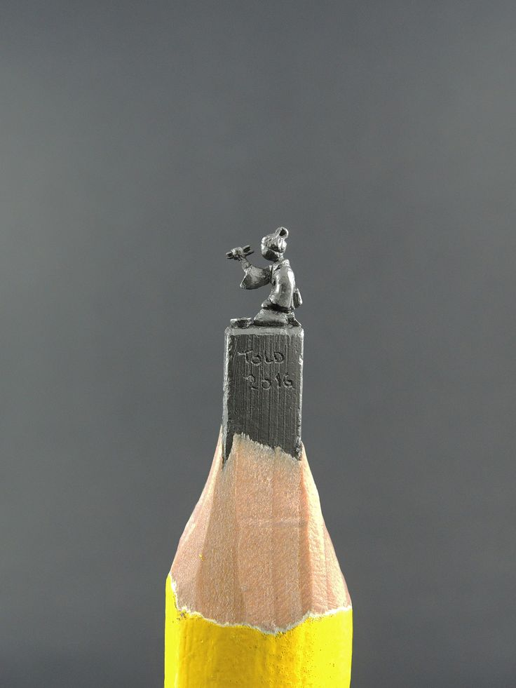 Best Graphite Carvings Images On Pinterest Pencil Art - 8 astonishing tiny sculptures carved on the tips of pencils
