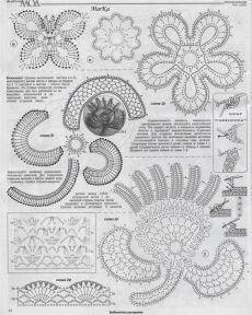 lace crochet fashion in crochet magazine   make handmade, crochet, craft   Crochet Irish   Журнал Crochet, Вязание Крючком Поделки и Журналы