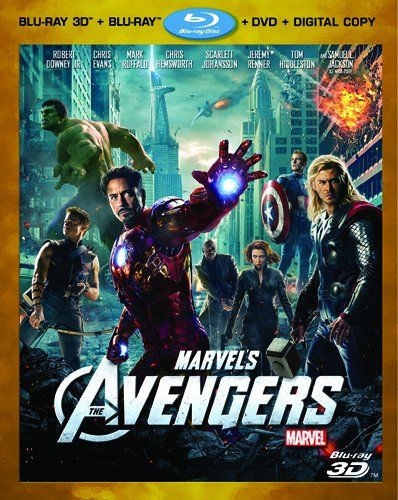 Pre-Order: Marvel's The Avengers (Four-Disc Combo: Blu-ray 3D/Blu-ray/DVD + Digital Copy)