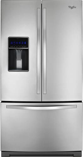 This is 👍❤the TriFreezer System!!! By Whirlpool WRF736SD 36 Inch French Door Refrigerator with Fast Ice, Pizza Pocket, External Dispenser, MicroEdge Shelves, In Door Ice System, Fold-Away Shelf, ADA Compliant and Energy Star Rated
