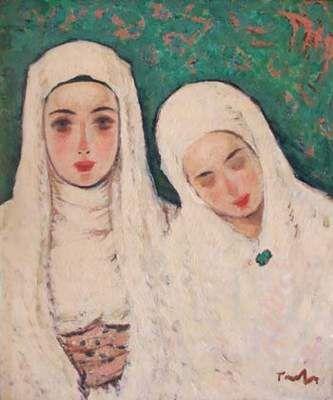 Nicolae Tonitza (Romanian: 1886-1940)   Nuns
