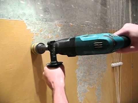 снятие краски со стен - YouTube