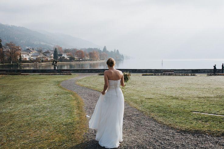 First look, wedding chateau Schadau in Thun Switzerland