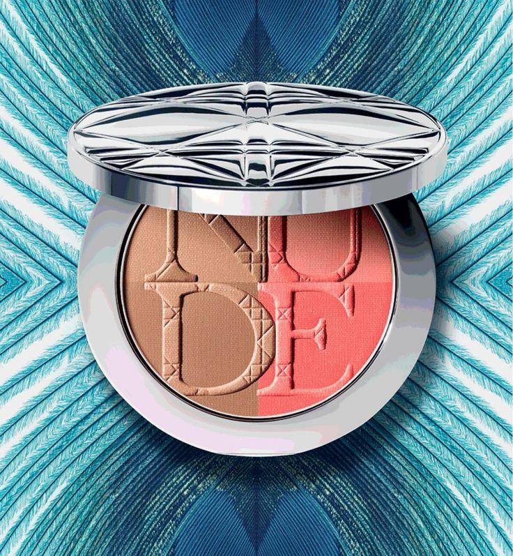 Bird of Paradise   blush / bronzer   Dior Summer Makeup Collection 2013 #makeup