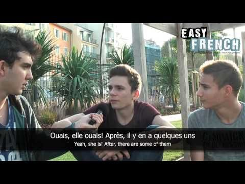 Easy French 14 - Schools in France - YouTube