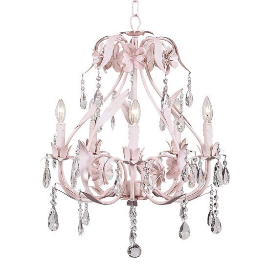 43 best nursery chandeliers images on pinterest chandeliers pink ballroom nursery chandelier girls chandelier aloadofball Image collections