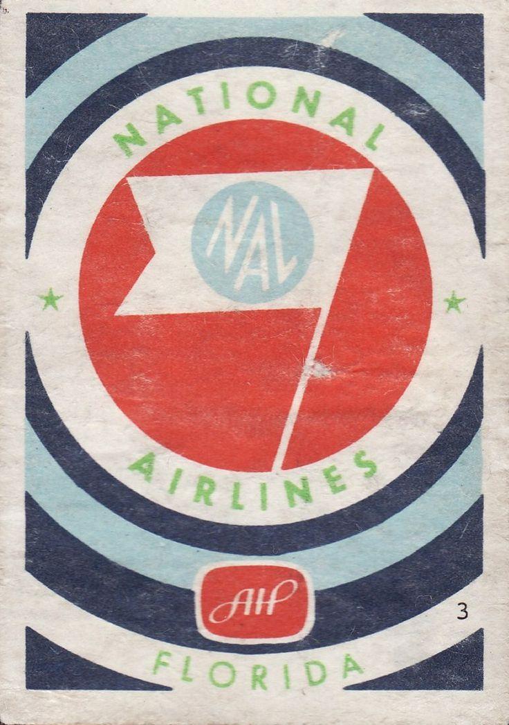 National Airlines / Florida / HAL Matchbox Series