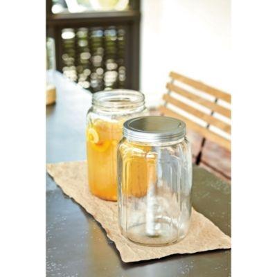 Love this!!  Can't wait to get one! Beverage Jar | European-Inspired Home Furnishings | Ballard DesignsLarge Mason Jars, Punch Bowls, Southern Living, Rehearsal Dinner, Beverages Jars, Living Beverages, Parties Ideas, Drinks Dispeners, Ballard Design