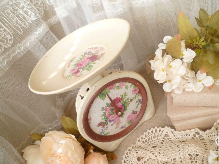 """Купить весы""""Цветочные"""" - комбинированный, весы, кухня, кухонный интерьер, кухонный декор, кухонные аксессуары, подарок"""