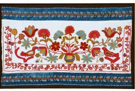 M. Finkel & Daughter - Russian Embroidery Picture
