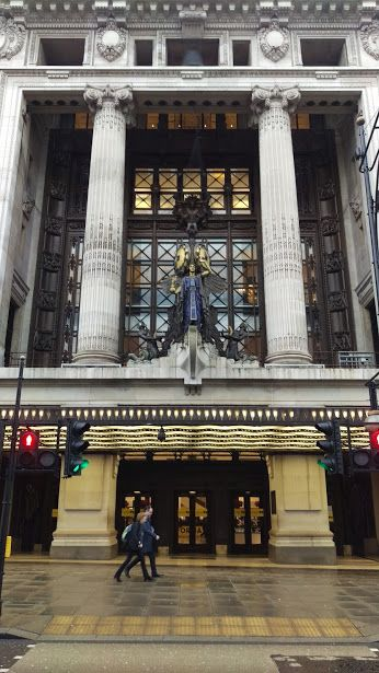 Selfridges, one of London's leading department stores, Oxford Street, central London.