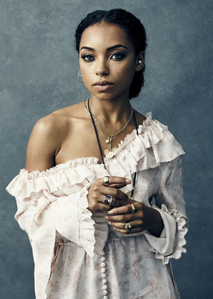 Who Is Logan Browning? Facts About the Dear White People Star: Enough of us fangirling—it's time for you to reach our level and learn six interesting facts about Dear White People's Logan Browning. -- Magda Butrym Dress, assorted rings, and Foundrae Necklaces  |  coveteur.com