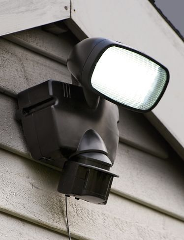 We can install security lighting to deter any criminals