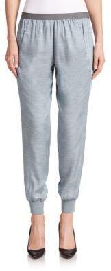 Vince Chambray Jogger Pants - Shop for women's Pants - SLATE BLUE Pants