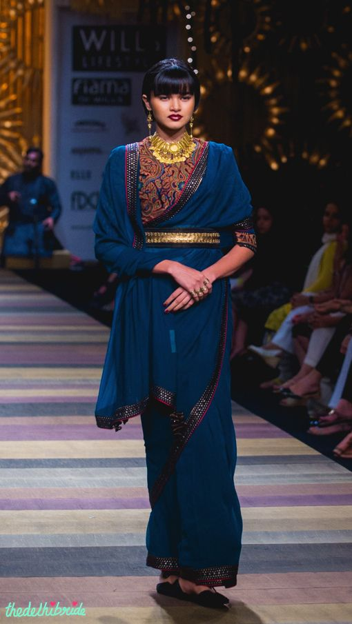 Tarun Tahiliani at Wills Lifestyle India Fashion Week A/W 2014 | thedelhibride Indian Weddings blog