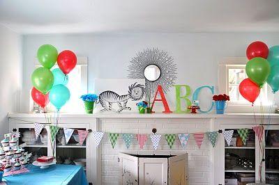 dr seuss party ideas - Bing Images