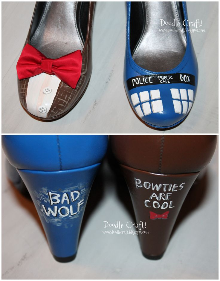 These would be a perfect finishing touch to a Tardis Halloween Costume.