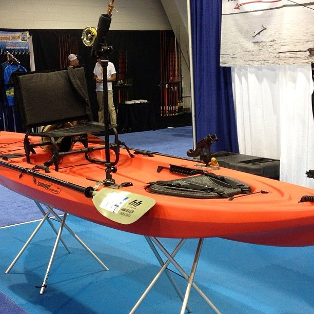 The new roto molded fishing kayak from diablo paddlesports for Wide fishing kayak
