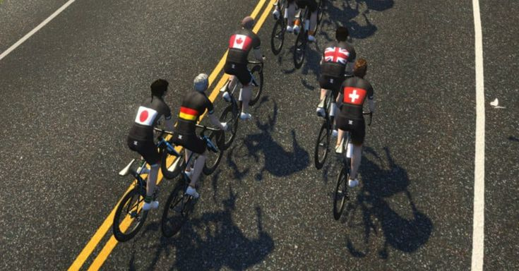 Zwift brings together 15 countries for an online stationary bike race