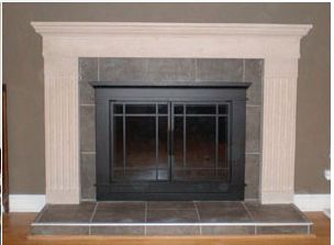 14 Best Images About White Brick Fireplace On Pinterest