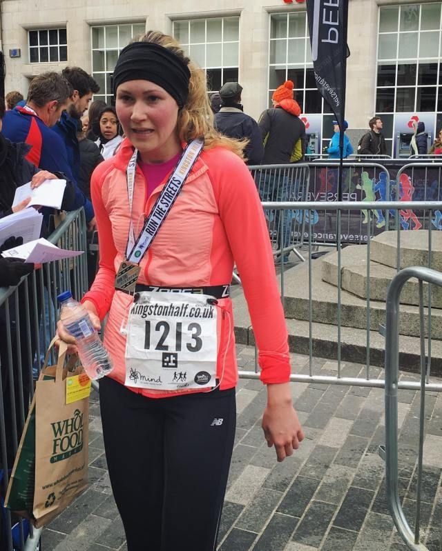 Race every race with your best effort. No matter how fit or unfit you feel. Here's a race report from my unexpected personal best half marathon. So tough. So happy with the result.