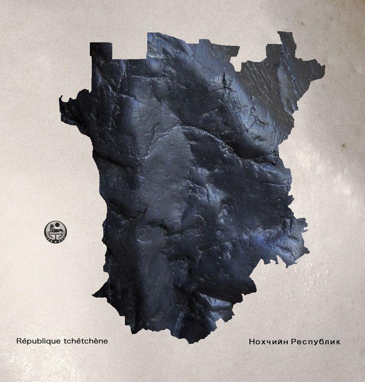 Carte/Map Tchétchène