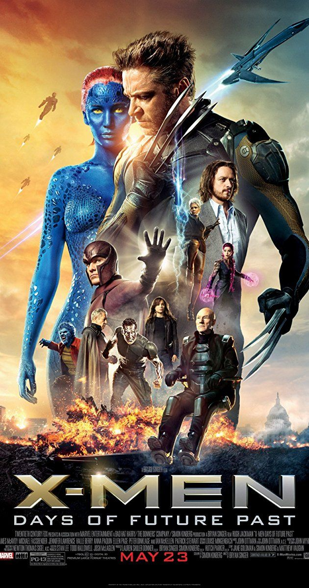 Directed by Bryan Singer. With Patrick Stewart, Ian McKellen, Hugh Jackman, James McAvoy. The X-Men send Wolverine to the past in a desperate effort to change history and prevent an event that results in doom for both humans and mutants.