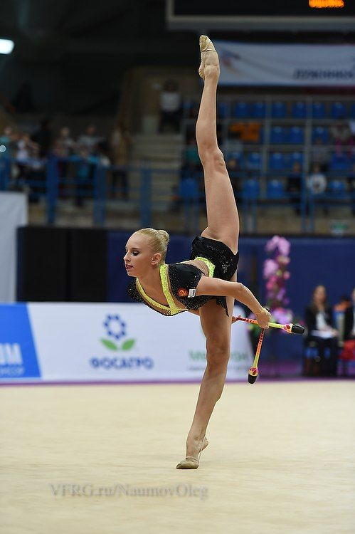 Yana Kudryavtseva, Russia, clubs 18,866 at Grand Prix Moscow 2015