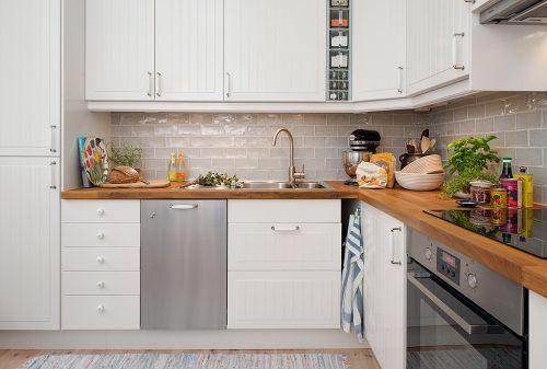 inspiracin para cocinas en blanco y madera