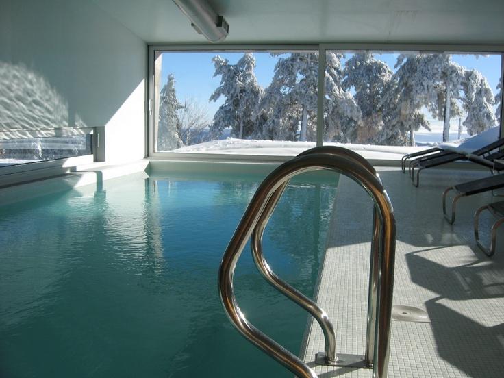 Love An Indoor Pool! Casa Das Penhas Douradas In Portugal At Over 1,500  Metres.