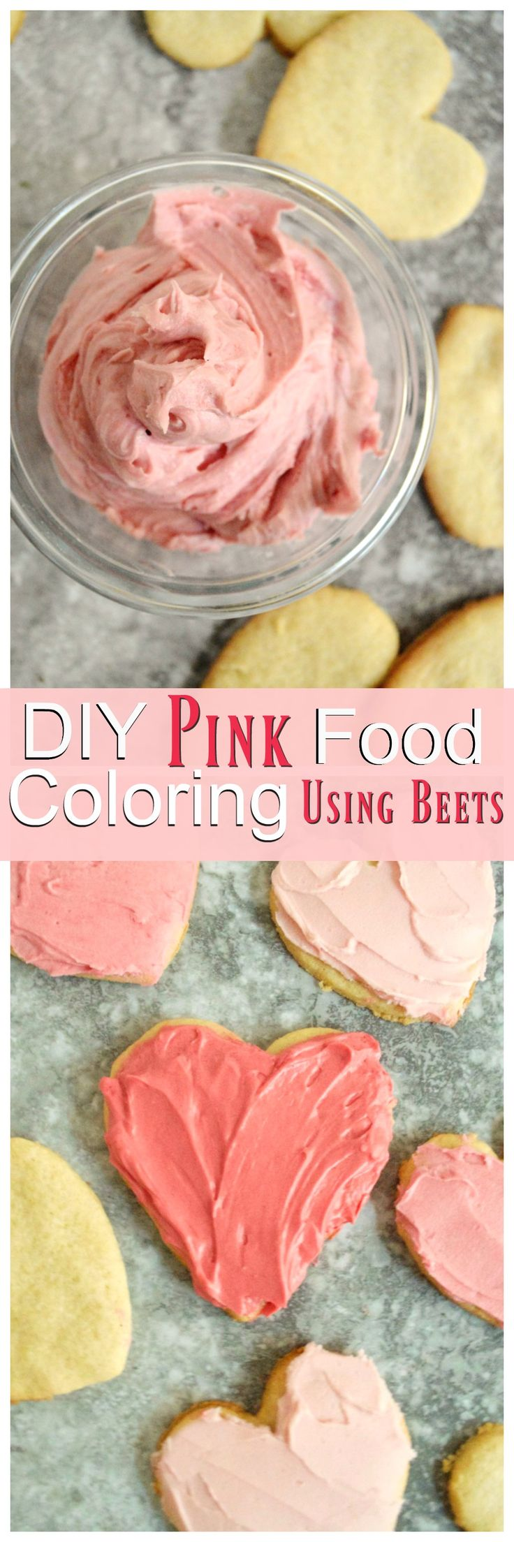 How to Make Pink Food Coloring Naturally Using Beets| Kalecuties.com - Just 4 easy steps.