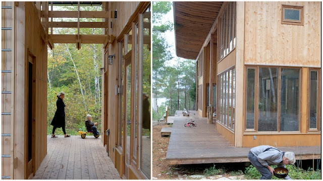 Communal Cabins. Technically one house, but due to layout- Very private!: States Blog, Dreams States