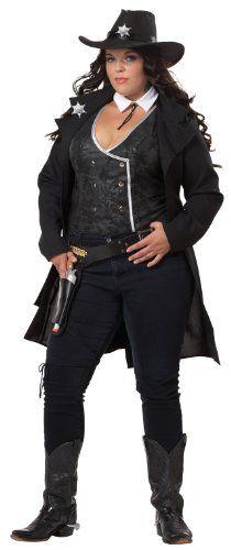 Fashion Bug Plus Size Roundg Em Up Costume www.fashionbug.us #PlusSize #FashionBug #Costumes