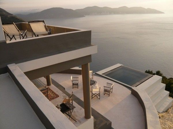 Villa Delphina Greece holiday home stunning Mediterranean view