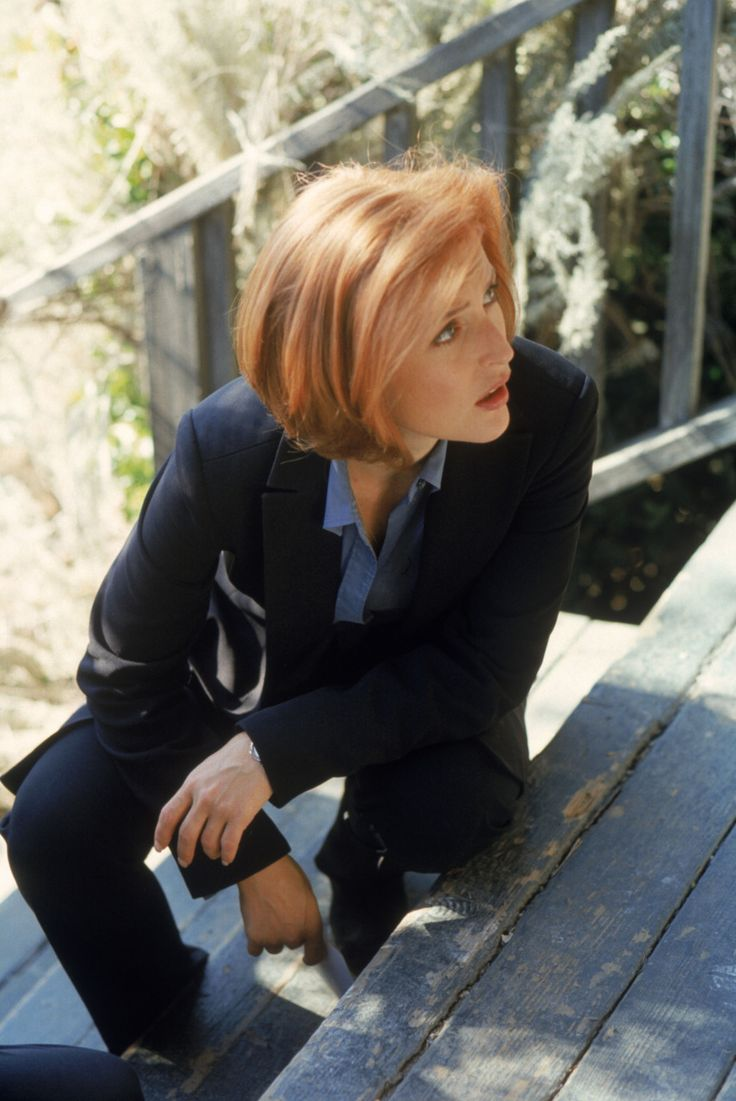 "My forever ""I want to dye my hair red to be Dana Scully, so I did"" inspiration."