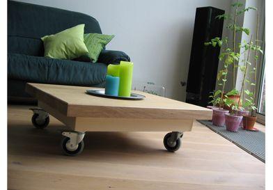 Vuijst ontwerpt   meubels   verrijdbare tafel zithoek
