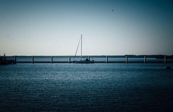 Morze Bałtyckie. Kamień Pomorski. Polska