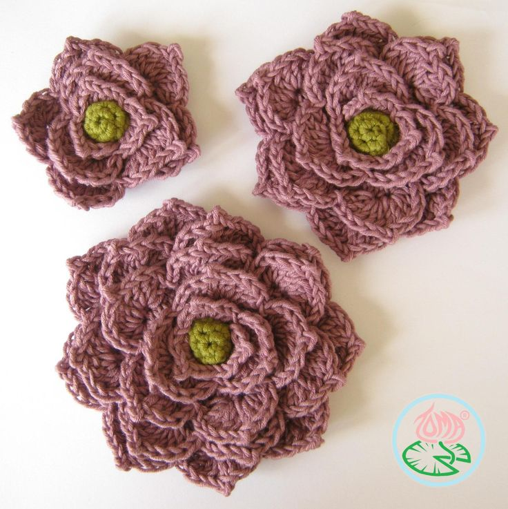 17 Best images about -::- Crochet brooches -::- on ...