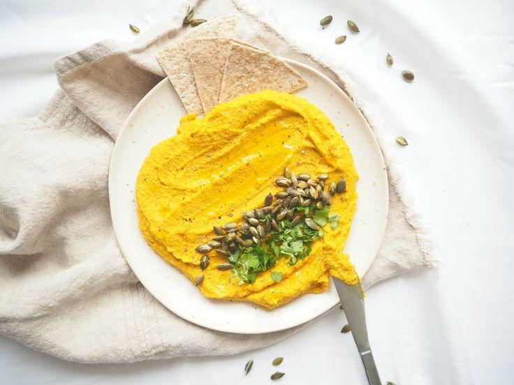 Hummus z červené čočky s mrkví