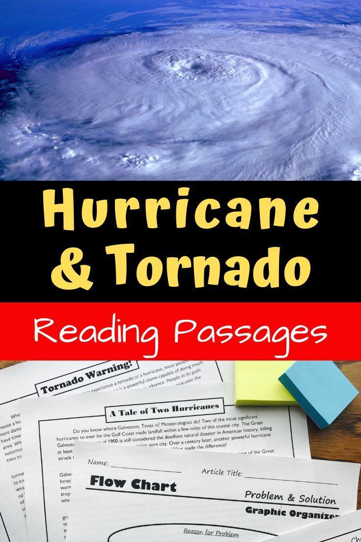 Nonfiction Text Structure Passages Hurricanes Tornadoes Distance Learning Nonfiction Text Structure Passages Nonfiction Text Structure Reading Passages