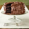 number 1 on the list of most delicious things in the world: chocolate cake