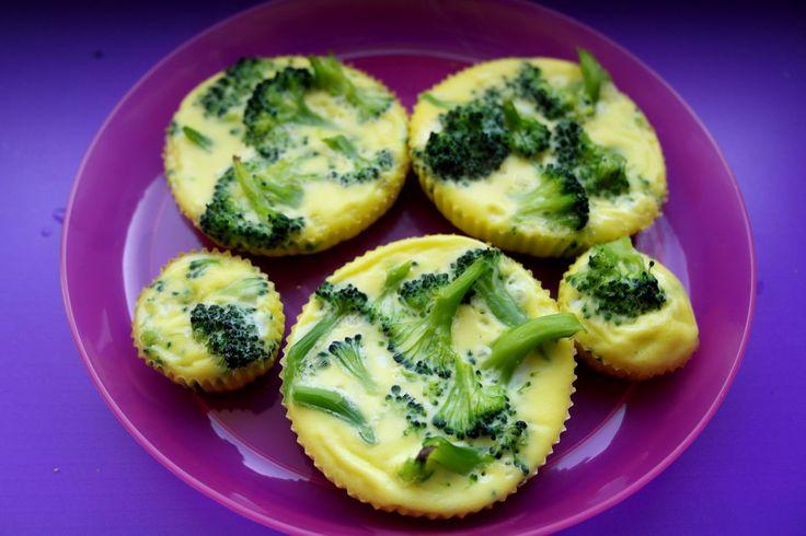 retete sanatoase pentru copii, omleta cu broccoli, omleta pentru copii