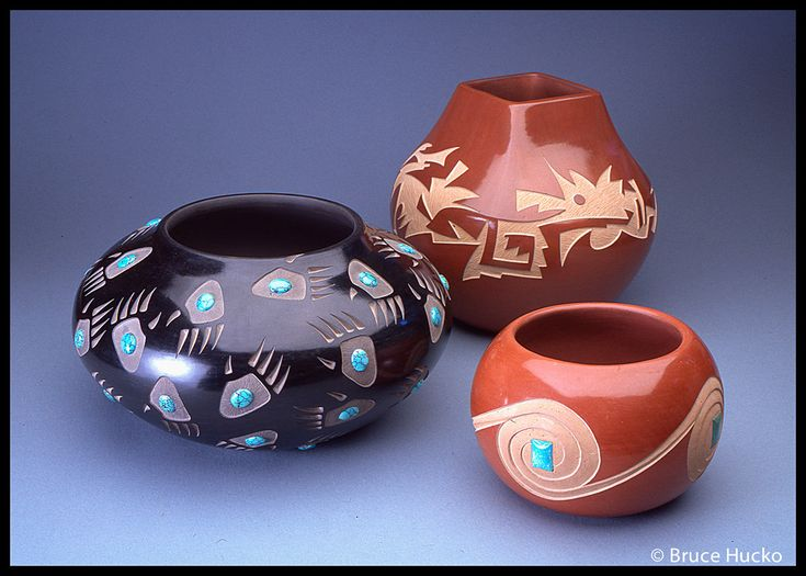 Harvier Family Pottery : Santa Clara Pueblo