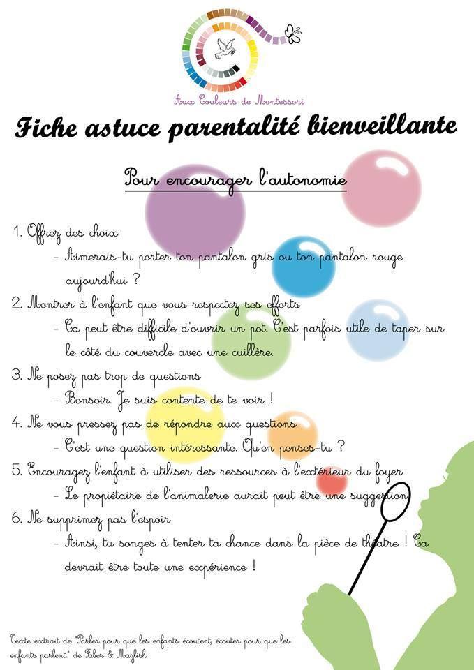 Fiche astuce parentalité bienveillante www.tdah.be