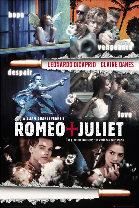 a review of baz luhrmanns movie adaptation of william shakespeares play romeo and juliet Romeo + juliet movie reviews & metacritic score: baz luhrmann's dazzling and  unconventional adaptation of william shakespeare's classic love story is spellbi   that luhrmann and his two bright angels have shaken up a 400-year-old play.