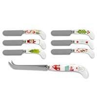 Image detail for -Portmeirion Christmas Wish Cheese Knife and Spreaders