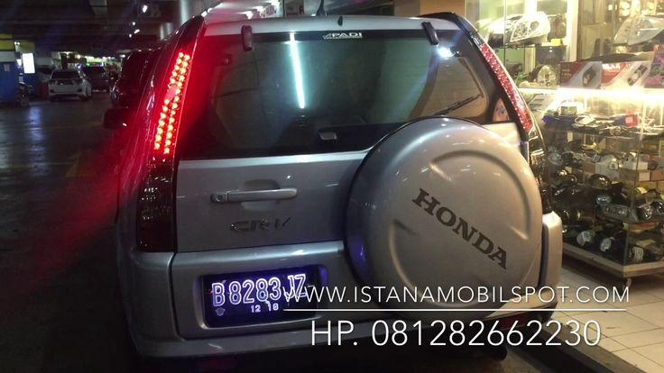 Stop Lamp Honda CR-V 2002 - 2006 Smoke Lens Taiwan - YouTube