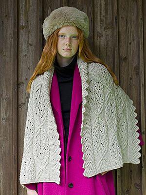 縁編みのショール