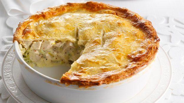 Chicken and leek pie :: Australian Women's Weekly Mobile