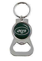 New York Jets Bottle Opener Keychain